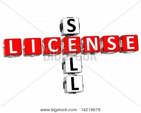 Sell License Crossword