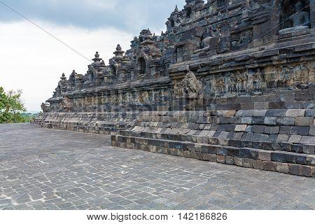 Ancient Borobudur Buddhist Temple