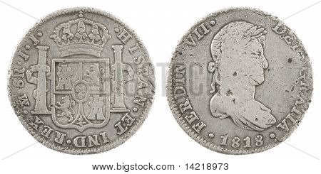 Spanish Old Coin