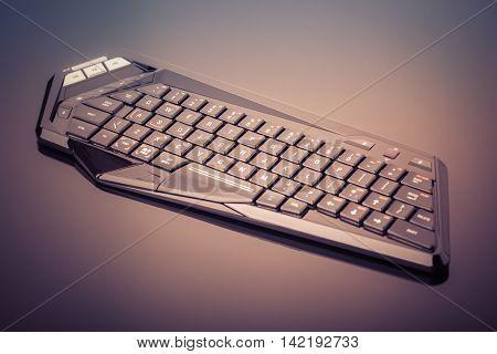 Futuristic Gaming Keyboard