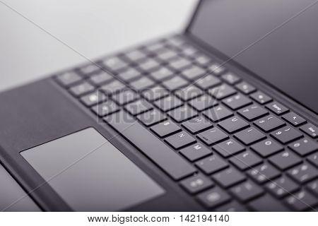 Tablet Keyboard Detail