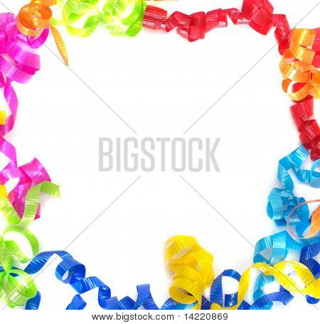 Multicolored Ribbon Border