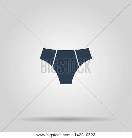 underwear Icon. Vector concept illustration for design.