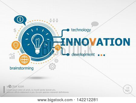 Innovation Concept For Business.