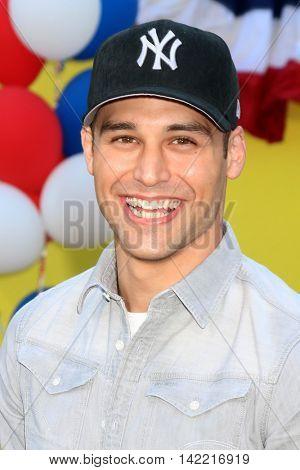 LOS ANGELES - AUG 9:  Ryan Guzman at the