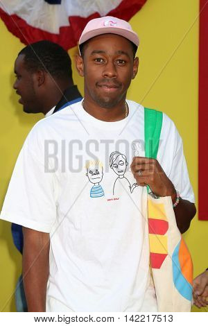 LOS ANGELES - AUG 9:  Tyler Gregory Okonma, aka Tyler The Creator at the