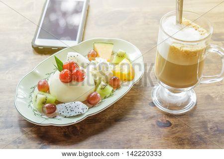 Dessert At Morning