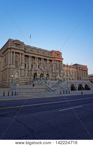 Library Of Congress Building Washington Dc