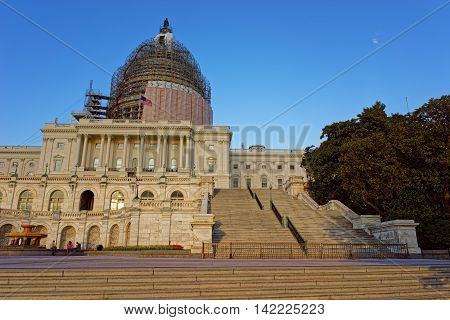 Reconstruction Of The United States Capitol
