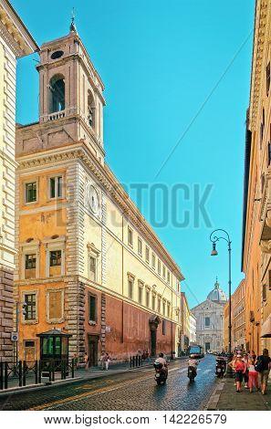 Sant Andrea Della Valle Church In Corso Del Rinascimento