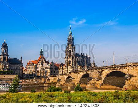 Dresden Hofkirche Hdr