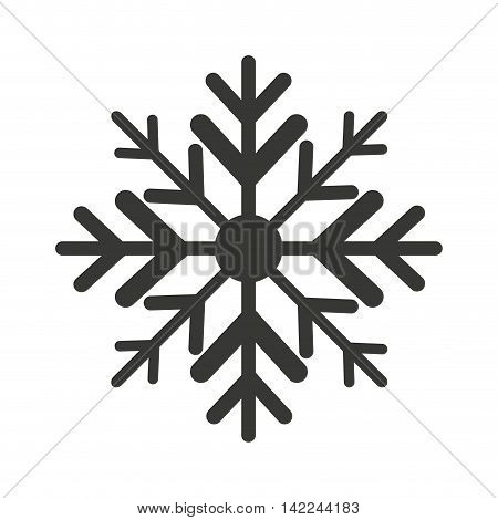 snowflake winter isolated icon vector illustration, eps10