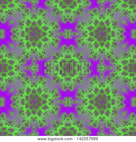 Neon colorful purple and limete lime green seamless pattern