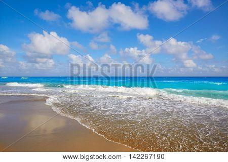 Palm Beach beach coastline in Florida USA