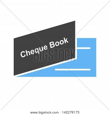 Cheque, book, payment icon vector image.Can also be used for finances trade. Suitable for web apps, mobile apps and print media.