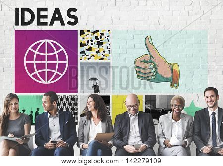 Ideas Action Plan Strategy Suggestion Tactics Concept