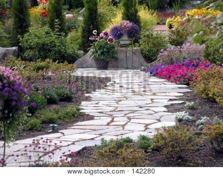 Garten Pfad