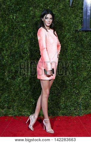 NEW YORK-JUN 7: Kendall Jenner attends American Theatre Wing's 69th Annual Tony Awards at Radio City Music Hall on June 7, 2015 in New York City.