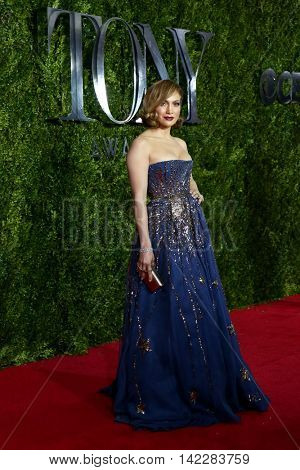 NEW YORK-JUN 7: Actress Jennifer Lopez attends American Theatre Wing's 69th Annual Tony Awards at Radio City Music Hall on June 7, 2015 in New York City.