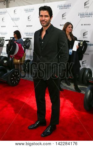 NEW YORK-APR 11: Actor Eduardo Verastegui attends the world premiere of
