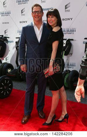 NEW YORK-APR 11: Actor Scott Henry (L) and guest attend the world premiere of