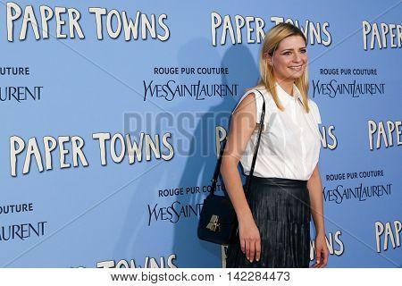 NEW YORK-JUL 21: Actress Mischa Barton attends the