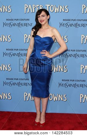 NEW YORK-JUL 21: Actress Lena Hall attends the