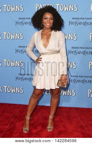 NEW YORK-JUL 21: Actress Jaz Sinclair attends the