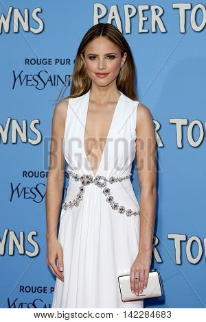 NEW YORK-JUL 21: Actress Halston Sage attends the