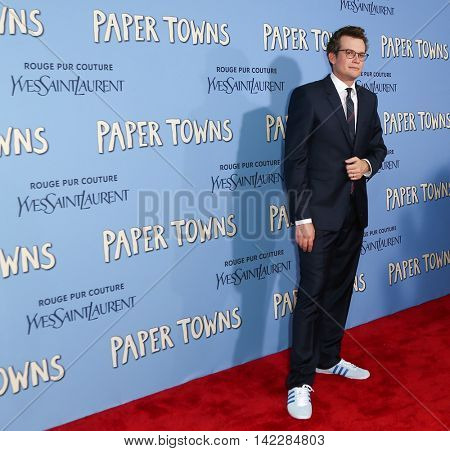 NEW YORK-JUL 21: Author John Green attends the