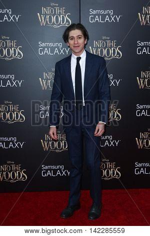 NEW YORK-DEC 8: Actor Michael Zegen attends the