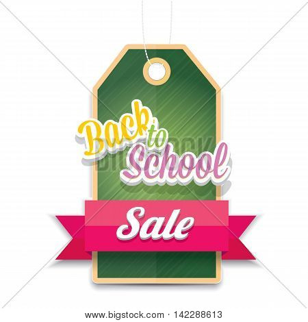 welcome back to school sale vector sticker background. vector school sale label or icon. day of knowledge sale