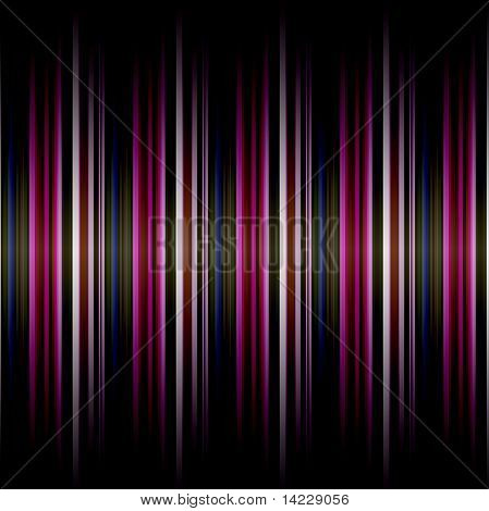 striped background in many purple colors with a gradient shadow top and bottom