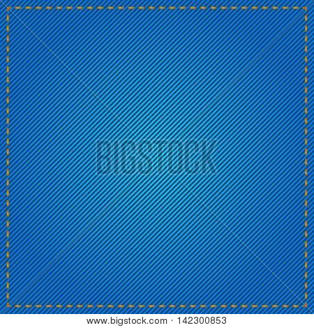 Vector stock of blue denim jeans textured background