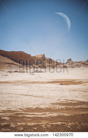 Moon Valley In Atacama