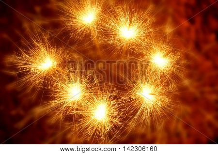 firework cracker and diwali festival celebrations in India