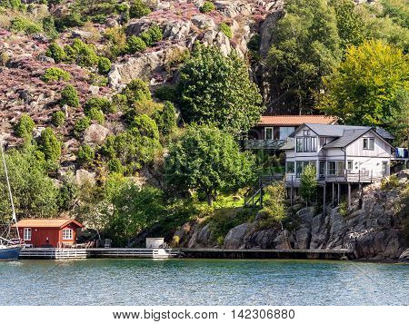 Holiday home in the archipelago or fjord near Lysekil Sweden