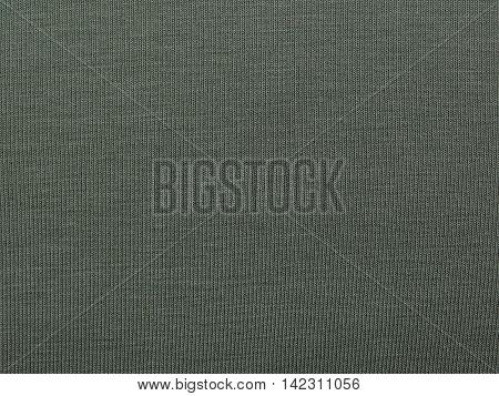 texture of green fabric, khaki , closeup