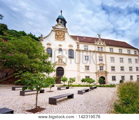 Old building in  Baden Baden. Germany