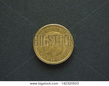 10 Swedish Krona (sek) Coin, Currency Of Sweden (se)