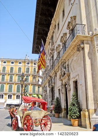 Town Hall Of Palma De Majorca