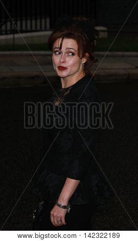 LONDON, UK, JUN 30, 2014: Helena Bonham Carter attends the Best of Britain's Creative Industries reception at 10 Downing street