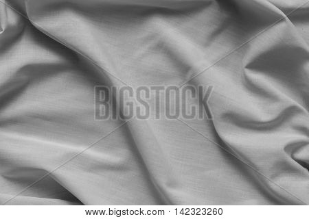 Crumpled fabric texture - background, wallpapers, close up