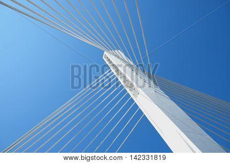 Millennium Bridge abstract composition, Podgorica