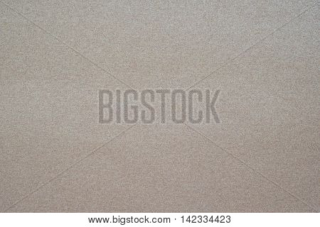 Background or texture of brown sand paper.