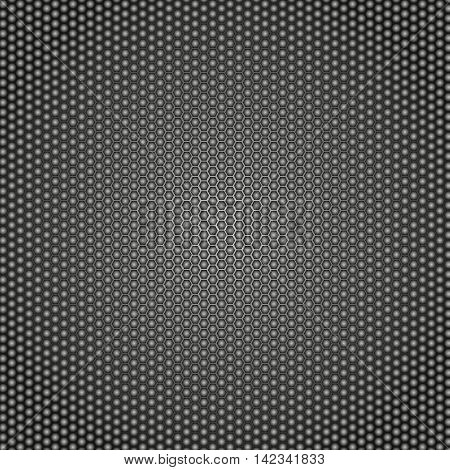 Abstract metal background. Honeycomb metal background . Vector illustration.