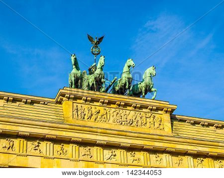 Brandenburger Tor, Berlin Hdr