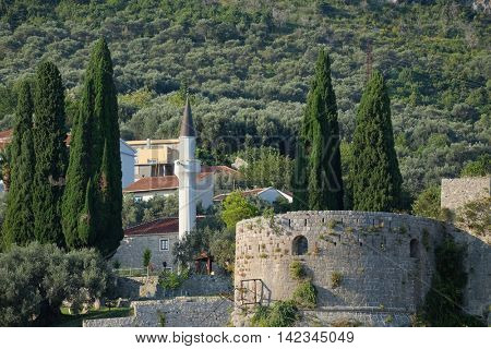 Stari Bar Citadel and Minaret, Montenegro