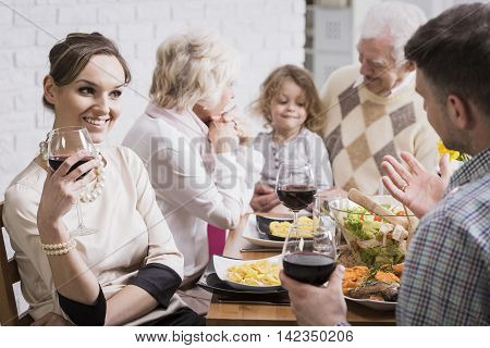 When Grandparents Are Captivated To His Grandson