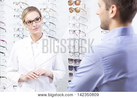 Buying New Glasses